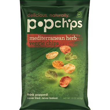 Mediterranean Herb Veggie Popchips - 15 oz.