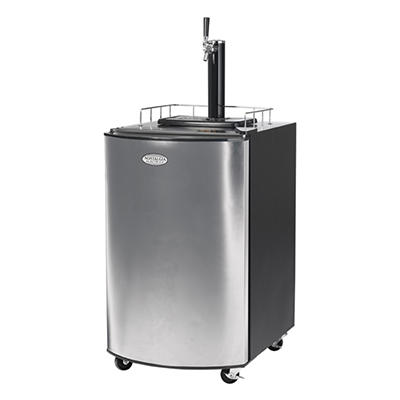 Nostalgia Electrics™ KRS-2150 Kegorator™ Beer Keg Fridge - Stainless Steel