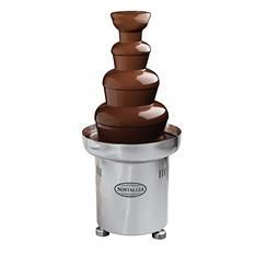 Nostalgia Commercial Chocolate Fondue Fountain