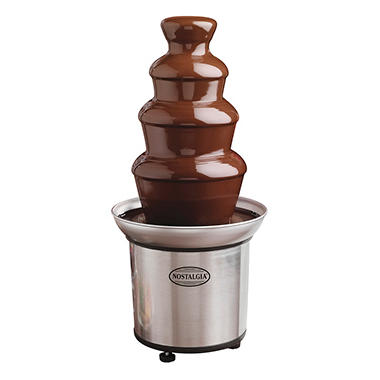 3-Tier Fondue Fountain - Stainless Steel