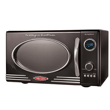 Nostalgia Electrics™ RMO-400BLK Retro Series™ Microwave Oven - Black