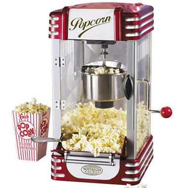 Retro Series Kettle Popcorn Maker