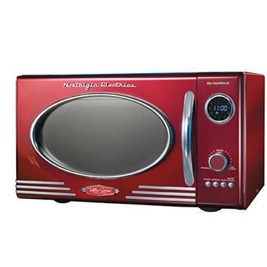 Nostalgia Electrics™ RMO-400RED Retro Series™ Microwave Oven - Red