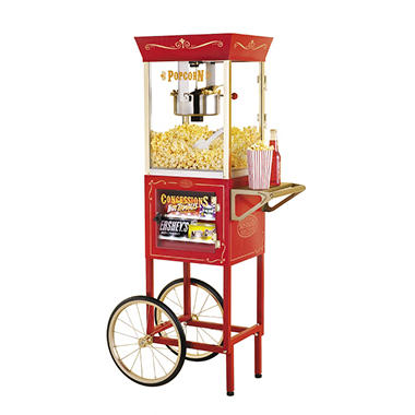 Nostalgia Electrics? Popcorn Maker & Concession Cart