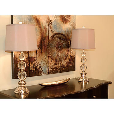 Crystal Lamp - 2 pk.