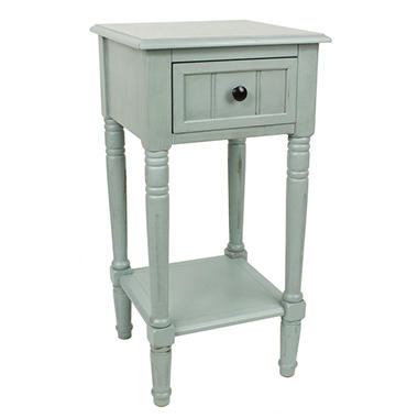 Jimco Lamp Square Accent Table with Drawer (Assorted Colors) - Sam's Club