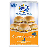 White Castle Cheeseburger Sliders (18 ct. )