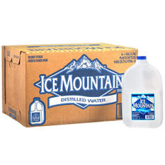Ice Mountain Distilled Water (1 gal. jug, 6 pk.)