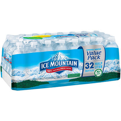 Ice Mountain Natural Spring Water - 32/0.5L