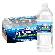 Ice Mountain® 100% Natural Spring Water - 28/20 oz.