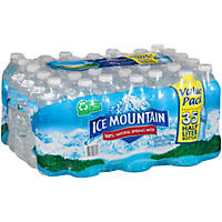 Ice Mountain 100% Natural Spring Water (16.9 fl. oz., 35 ct.)