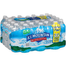 Ice Mountain Natural Spring Water - 16.9 fl. oz. - 35 pk.