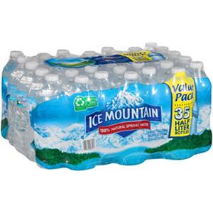 Ice Mountain 100% Natural Spring Water (16.9 fl. oz., 35 ct.)