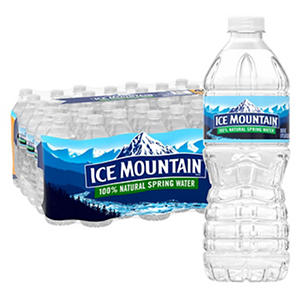 Ice Mountain 100% Natural Spring Water (16.9 fl. oz., 40 ct.)