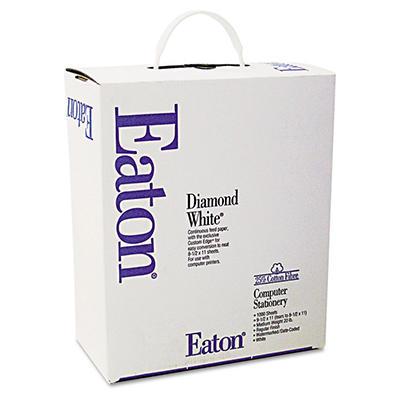 "Southworth Eaton - 25% Cotton Computer Paper, 20lb, 91 Bright, 9-1/2 x 11"" - Case"