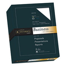 Southworth - Fine Business Paper, 20lb, White - Ream