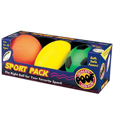 3 Ball Sport Pack
