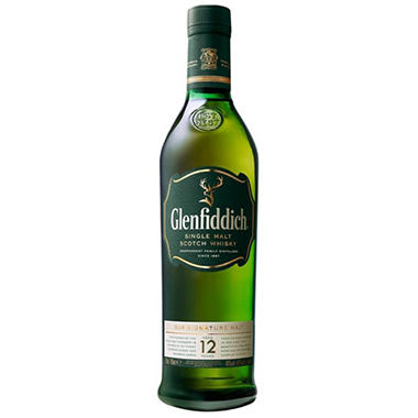 +GLENFIDDICH 750ML 12 YR OLD SCOTCH