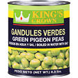 King's Crown Green Pigeon Peas - 6.3 lbs.