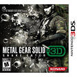 Metal Gear Solid Snake Eater - 3DS