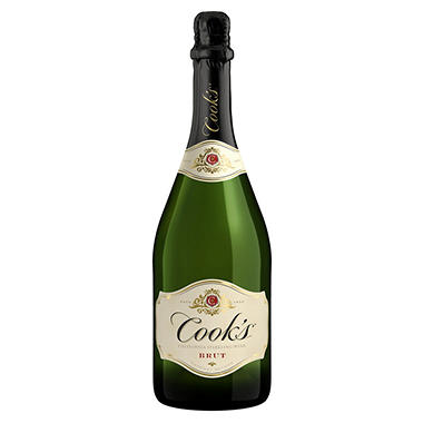Cook's Brut California Champagne - 750ml