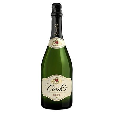 Cook's Brut California Champagne (750ML)