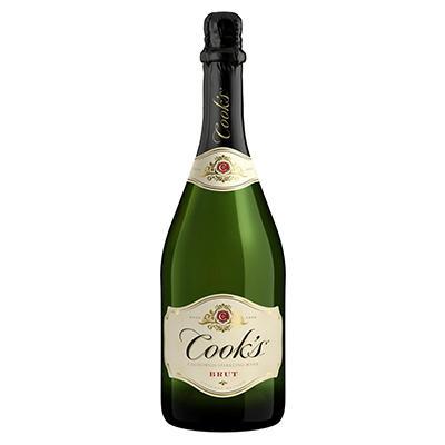 Cook's Brut California Champagne - 750ml