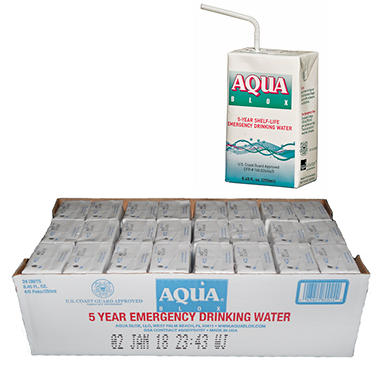 Aqua Blox Emergency Water - 24 - 8.45 oz.