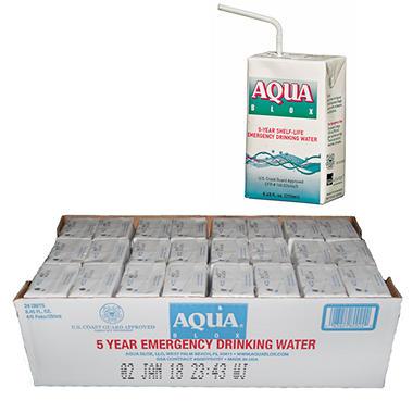 Aqua Blox Emergency Water - 24 - 8.45 oz.