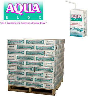Aqua Blox Emergency Water - 2880 ct. - 8.45 oz. (full pallet - 120 cases)
