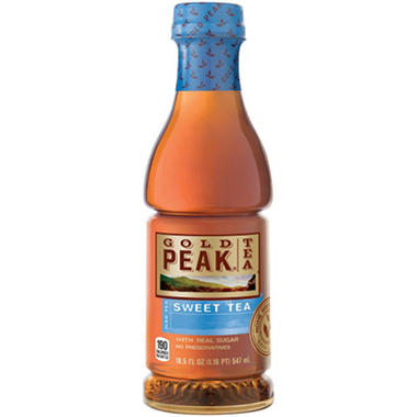 Gold Peak Sweet Tea - 18.5 oz. bottles - 12 pk.