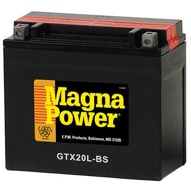 Magna Power� Power Sports Battery - Group Size 20LBS