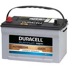 Duracell AGM Automotive Battery - Group Size 65