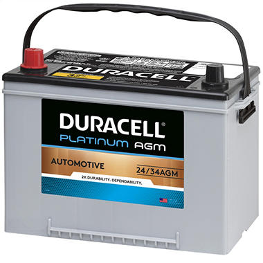 Duracell® AGM Automotive Battery - Group Size 34