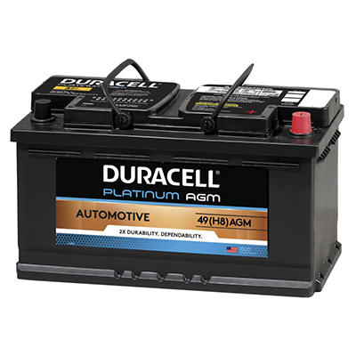 Duracell® AGM Automotive Battery - Group Size 49 (H8)