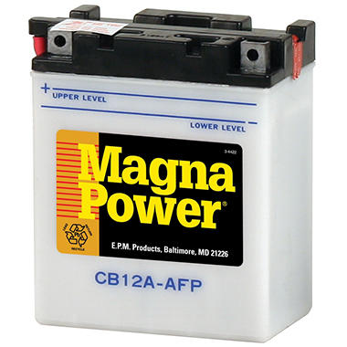 Magna Power� Power Sports Battery - Group Size 12AA