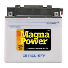 Magna Power Power Sports Battery - Group Size 16CLB