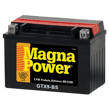 Magna Power� Power Sports Battery - Group Size 9BS
