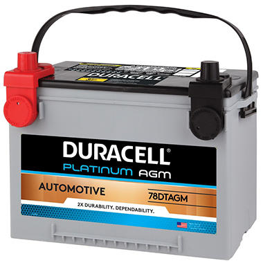 Duracell® AGM Automotive Battery - Group Size 78DTAGM
