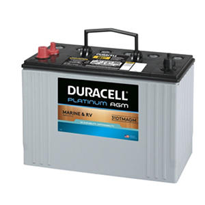 Duracell® AGM Deep Cycle Marine and RV Battery - Group Size 31