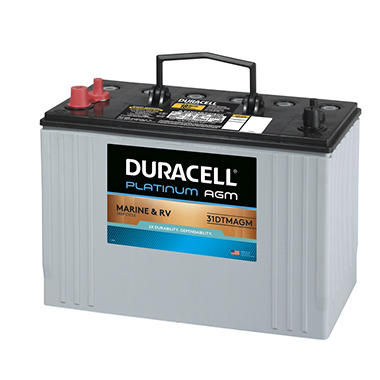 Duracell® AGM Deep Cycle Marine and RV Battery - Group Size 31DTMAGM