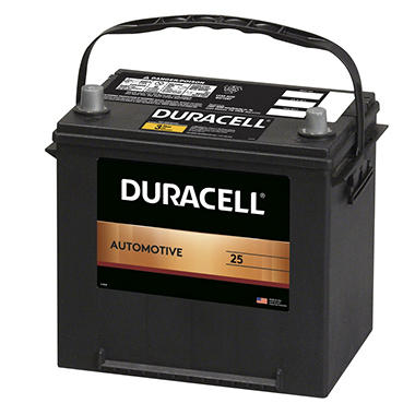 Duracell Automotive Battery - Group Size 25