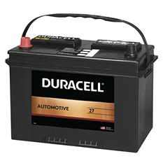 Duracell® Automotive Battery - Group Size 27