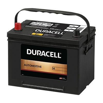 Duracell® Automotive Battery - Group Size 34