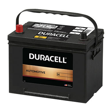 Duracell® Automotive Battery - Group Size 34