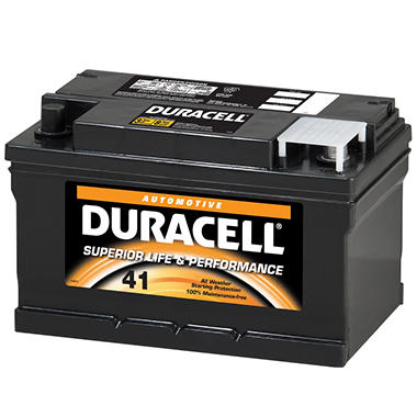 Duracell® Automotive Battery - Group Size 41