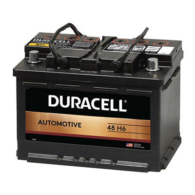 Duracell® Automotive Battery - Group Size 48 (H6)