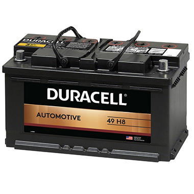 Duracell® Automotive Battery - Group Size 49 (H8)