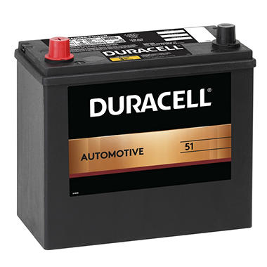 Duracell® Automotive Battery - Group Size 51