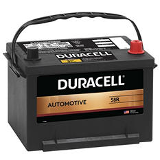Duracell® Automotive Battery - Group Size 58R